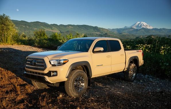 Картинка Toyota, тойота, TRD, Tacoma, 2015, такома, Off-Road