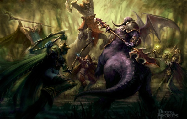 Картинка dota, кентавр, дота, тракса, defense of the ancients, kunkka, пугна, мортред, пит лорд, фурион