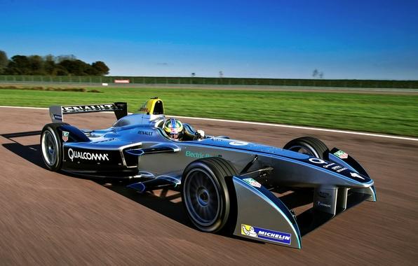 Картинка SRT, электромобиль, Formula E, Spark-Renault