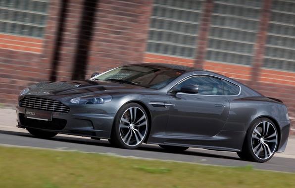 Картинка car, Aston Martin, DBS, black, tuning, Edo Competition