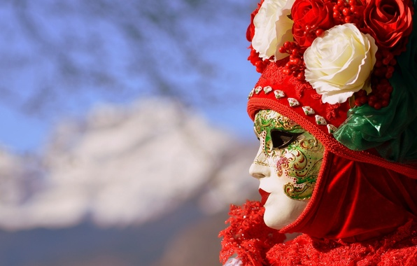 Картинка маска, Италия, Венеция, карнавал