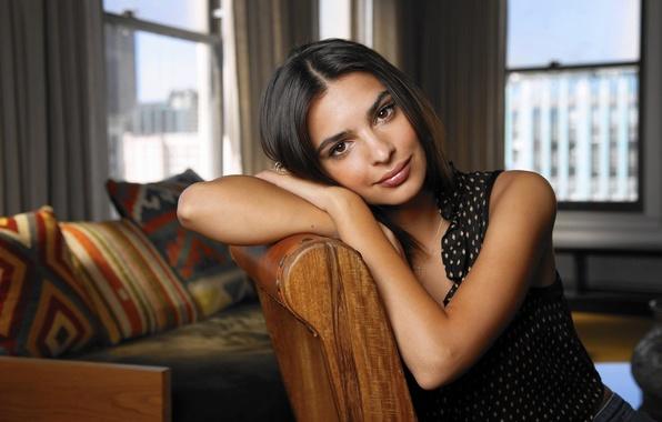 Картинка модель, актриса, фотосессия, Emily Ratajkowski, 2015, Эмили Ратаковски, LA Times