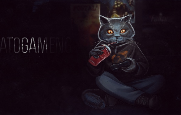 Обои игры игра Games Pubg Playerunknowns картинки на: Обои игры, игра, Кот, Game, Half-Life, Cat картинки на