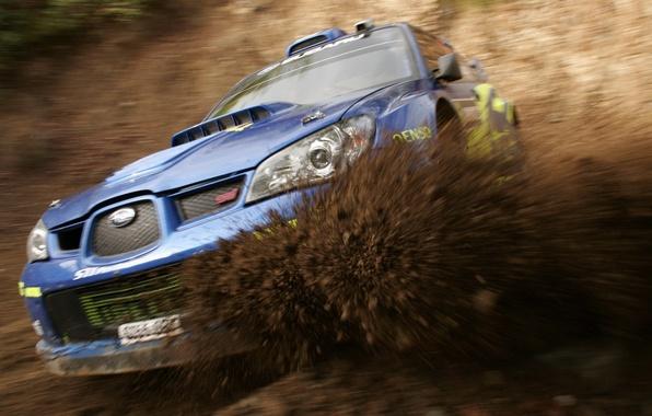 Картинка Subaru, Impreza, Спорт, Грязь