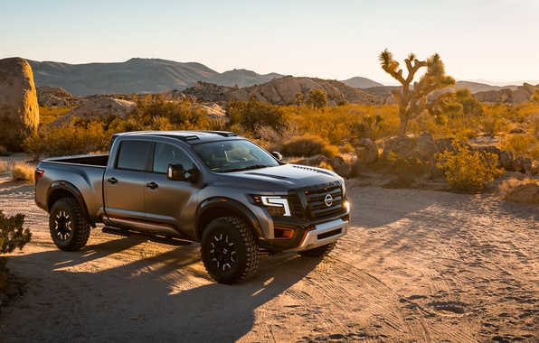 Картинка Concept, Nissan, пикап, ниссан, Titan Warrior, титан варриор
