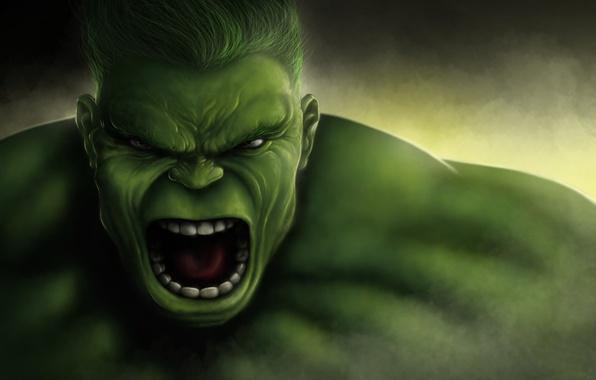 Картинка лицо, Marvel Comics, The Hulk, Bruce Banner