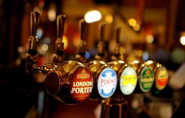 Картинка макро, пиво, бар