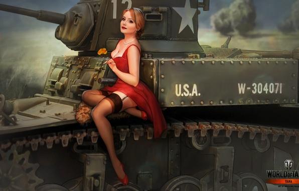 Девушки Танкисты в игре World Of Tanks