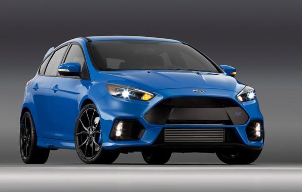 Картинка синий, Ford, фокус, Focus, форд, US-spec, 2015