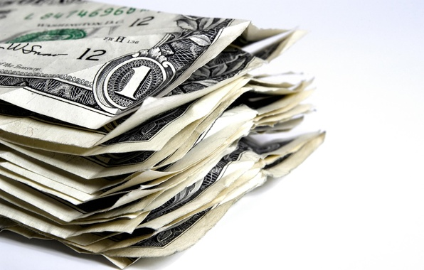 Картинка деньги, доллары, пачка
