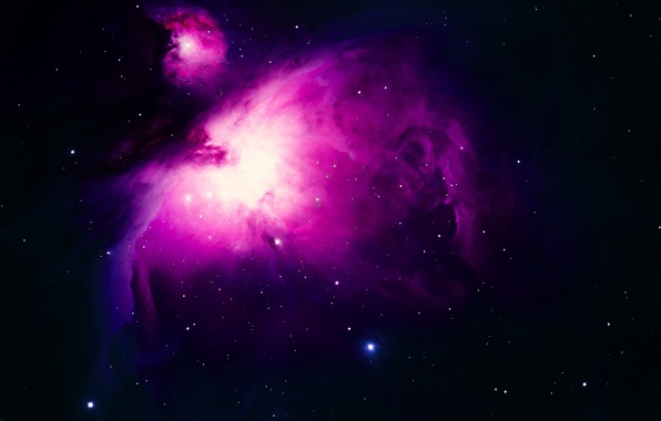 Картинка космос, звезды, туманность, пыль, газ, stars, univers, туманность Ориона