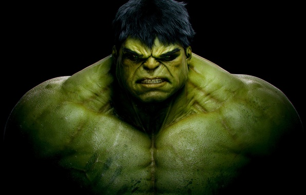 Фото обои Халк, Superheroes, Hulk, Супергерой, Movies