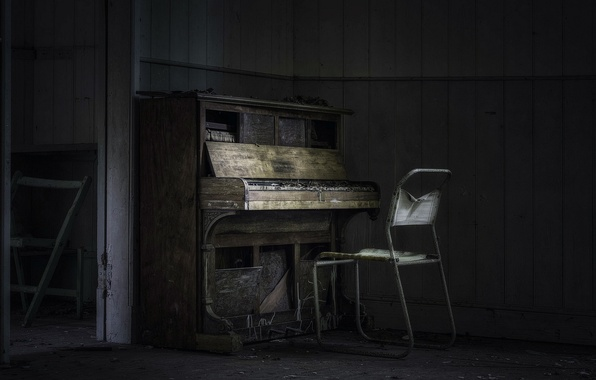 Картинка музыка, стул, пианино