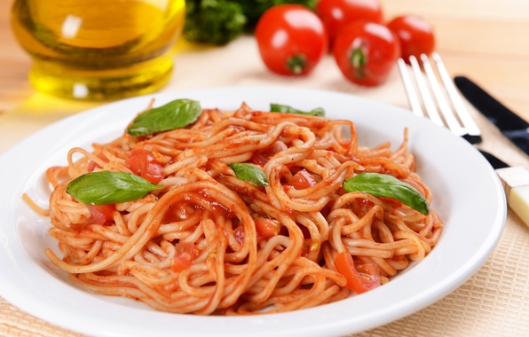 Картинка зелень, грибы, еда, томат, food, mushrooms, паста, greens, tomato, pasta