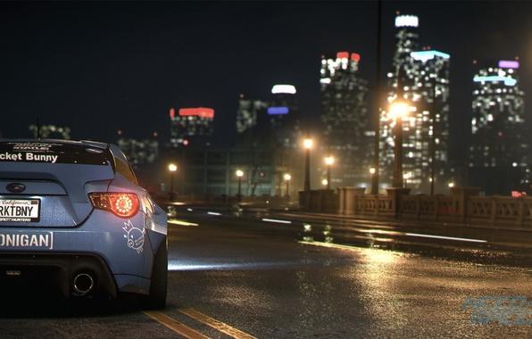 Картинка Subaru, nfs, BRZ, Rocket, нфс, Bunny, Need for Speed 2015, this autumn, new era
