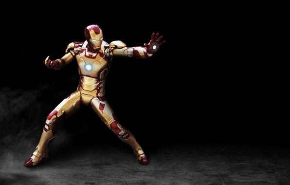 Картинка cinema, red, golden, armor, power, man, iron man, film, suit, Tony Stark, helmet, iron man …