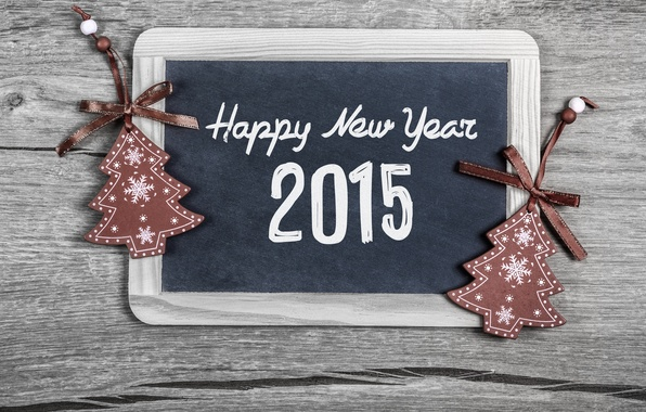 Картинка Новый Год, Рождество, Christmas, balls, New Year, Happy, 2015, Merry