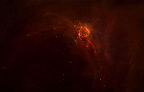 Картинка звезды, туманность, свечение, space, nebula