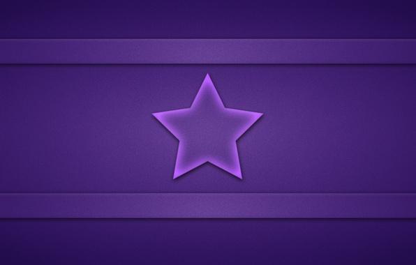 Картинка фиолетовый, полосы, звезда, текстура