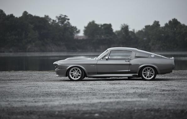 Картинка обои, Mustang, Ford, Shelby, GT500, Eleanor, форд, легенда, muscle car, wallpapers