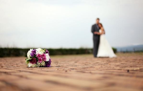Картинка листья, макро, цветы, фон, праздник, обои, букет, костюм, цветочки, невеста, широкоформатные, свадьба, праздники, жених, свадебное …