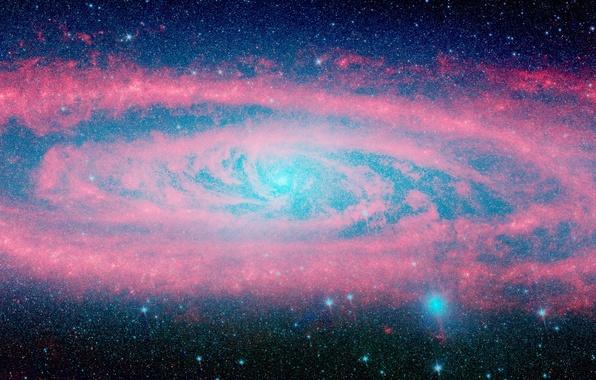 Картинка звезды, галактика, бесконечность, андромеда
