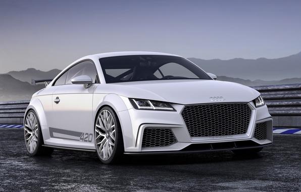 Картинка Audi, спорт, Ауди, concept, концепт, sport, quattro, передок, кватро