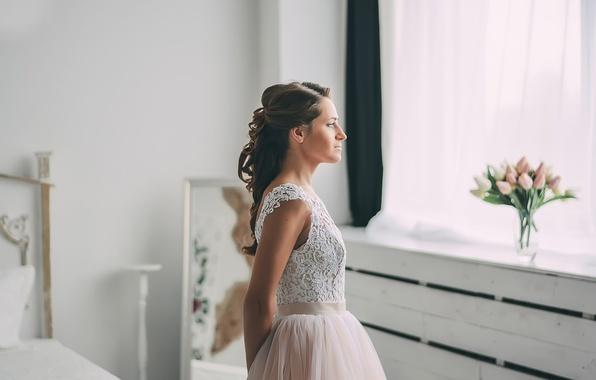 Картинка букет, платье, невеста