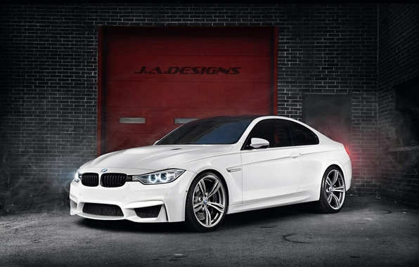 Картинка BMW, White, Concept Car, F82, By J.A.Designs, 2015 Coupe