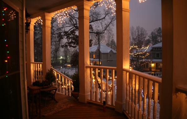 Картинка city, город, USA, christmas, winter, South_Carolina, new_year, Charleston