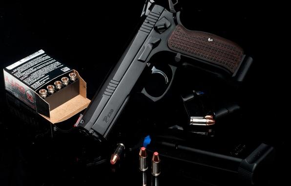Картинка пистолет, оружие, патроны, P-120, TriStar's