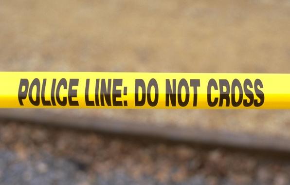 Картинка black, yellow, plastic, police line tape, perimeter