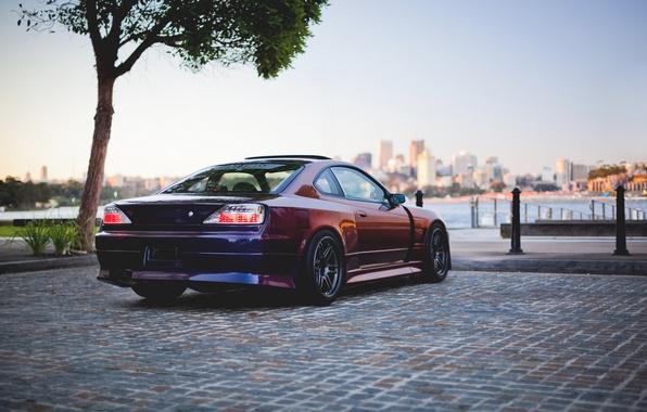 Картинка car, авто, тюнинг, S15, ниссан, tuning, Spec-R, Nissan Silvia