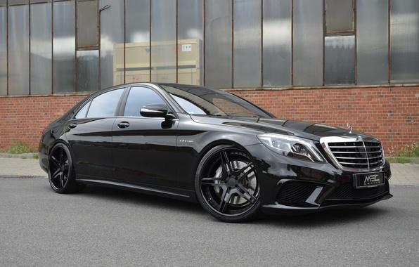 Картинка черный, Mercedes-Benz, мерседес, AMG, Black, MEC Design, S-Class, W222