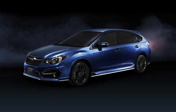 Картинка Subaru, Impreza, Hybrid, субару, импреза, Sport, 2015