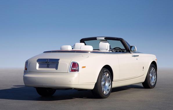 Картинка небо, Rolls-Royce, кабриолет, лимузин, ролс ройс
