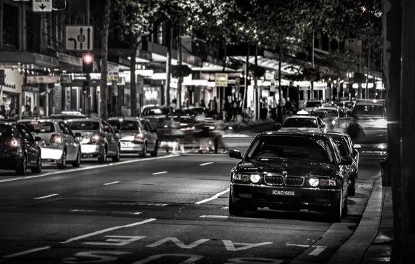 Фото обои E38, Город, 740iL, 7 Series, БМВ, BMW