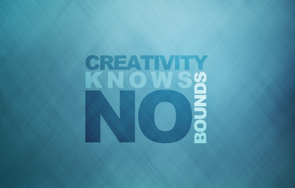 Картинка стиль, минимализм, линий, слова, фраза, minimalism, style, 1920x1200, lines, words, phrase, creativity knows no bounds