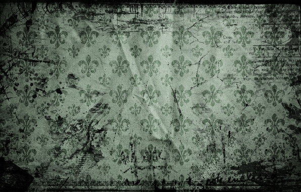 Картинка буквы, ткань, vintage