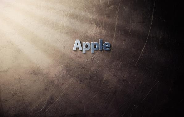 Картинка лучи, свет, стена, стены, яблоки, apple, яблоко, минимализм, луч, текстура, техника, плоды, америка, фрукты, текстуры, …