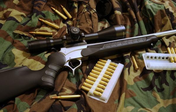 Картинка оптика, камуфляж, патроны, прицел, винтовка, 300, prohunter