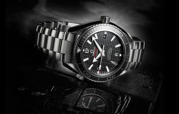 Картинка макро, часы, 007, omega, омега