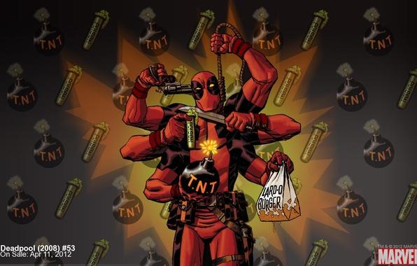 Картинка самоубийство, супергерой, marvel, Deadpool, Дэдпул, комикс, comics