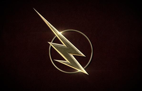 Картинка logo, comics, Flash