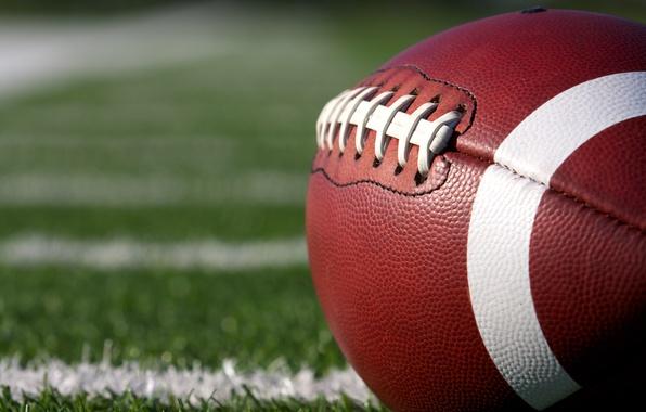 Картинка leather, ball, American football