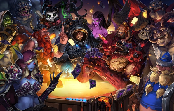 Heroes of the storm the lost vikings triple trouble - Heroes of the storm phone wallpaper ...