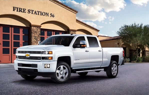 Картинка Chevrolet, шевроле, Crew Cab, LTZ, Silverado, 2015, сильверадо, 2500 HD, GMTK2H, Custom Sport