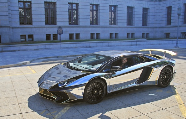 Картинка Lamborghini, SuperVeloce, Aventador, Lamborghini Aventador, sports car, Lamborghini Aventador LP 750-4 SuperVeloce