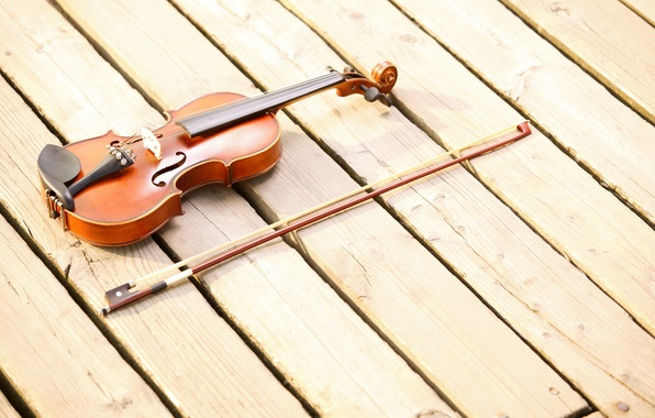 Картинка музыка, фон, дерево, widescreen, обои, скрипка, доски, струна, струны, music, wallpaper, wood, широкоформатные, background, музыкальный …