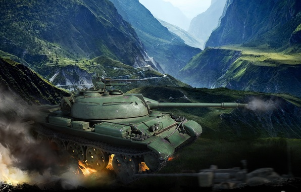Китайский World Of Tanks скачать